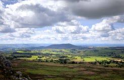 Shropshire landscape, England Royalty Free Stock Image
