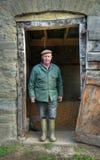 Shropshire-Landwirt stockfotos