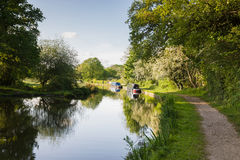 Shropshire Union Canal Stock Photo