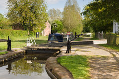 Shropshire Union Canal Royalty Free Stock Images