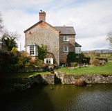 Shropshire-Verbands-Kanal in Wales lizenzfreies stockbild