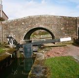 Shropshire-Verbands-Kanal in Wales lizenzfreie stockbilder