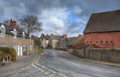 Shropshire wioska Zdjęcie Stock