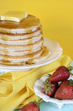 Shrove Pancake Tuesday stack of pancakes Stock Photography
