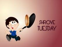 Shrove Tuesday Abstract Stock Photo