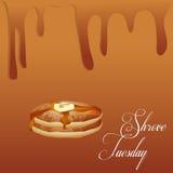 Shrove Tuesday Abstract Stock Image