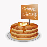 Shrove Tuesday Abstract Royalty Free Stock Images