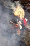 Shrovetide的庆祝-传统俄国假日 免版税库存图片