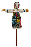 Shrovetide - Big doll for the burning Stock Image