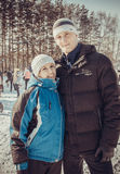 Shrovetide - the celebration and folk festival, Russia. Royalty Free Stock Images
