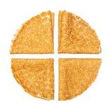 Shrovetide, Maslenitsa, fishnet pancakes Stock Image
