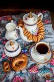 Shrovetide. Russian pancake festival. Stock Images