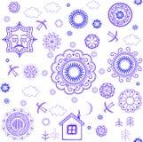 Shrovetide wallpaper Royalty Free Stock Photography