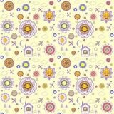 Shrovetide wallpaper Stock Photo