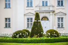 shrubbery at castle Koepenick Berlin Royalty Free Stock Photography