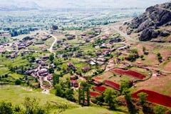 Shtavica village, Macedonia Stock Images