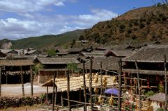 Shu He, China: Ancient Farmhouses Stock Photo