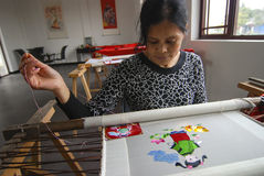 Shu Embroidery China imagens de stock royalty free