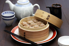Shu mai, shao mai, chinese food Royalty Free Stock Image