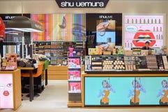 Shu Uemura kosmetyków butika wnętrze Fotografia Royalty Free