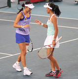 Shuai Peng (China) and Su-Wei Hsieh (TPE) Royalty Free Stock Image
