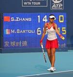 Shuai Zhang (CHN), tennis player Stock Image