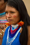 Shuar, indigenous group from Ecuador Royalty Free Stock Images