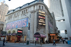 Shubert Theater in Times Square Royalty Free Stock Photo