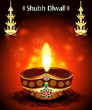 Shubh diwali Deepak Background Royalty Free Stock Image