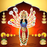 Shubh Navratri Background Stock Photos