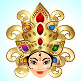 Shubh Navratri Background Royalty Free Stock Photo