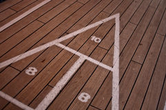 Shuffle Board Royalty Free Stock Image