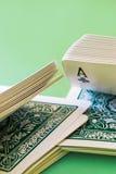 Shuffle playing cards Stock Image