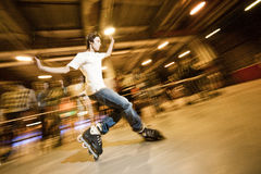 Shuffle (slide) competition Royalty Free Stock Photos