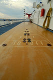 shuffleboard Στοκ Φωτογραφίες