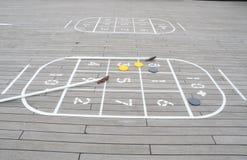shuffleboard Στοκ Εικόνα
