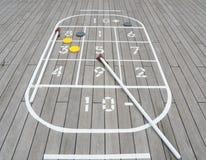 shuffleboard Στοκ Εικόνες