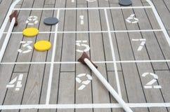 shuffleboard Στοκ φωτογραφία με δικαίωμα ελεύθερης χρήσης