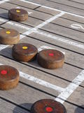 Shuffleboard Royalty Free Stock Photography