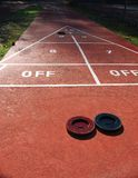 Shuffleboard Royalty Free Stock Images