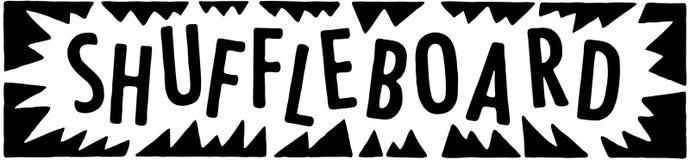 Shuffleboard Stock Image