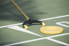 Shuffleboard game Stock Photography