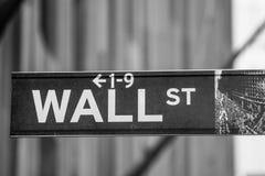 Shuffler de Wall Street Fotografía de archivo