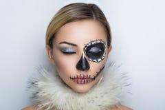 Shugar skull mask Royalty Free Stock Image