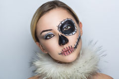 Shugar skull mask Royalty Free Stock Images