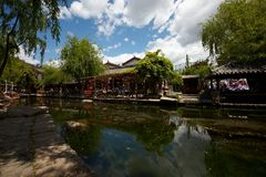 Shuhe ancient town Royalty Free Stock Photo
