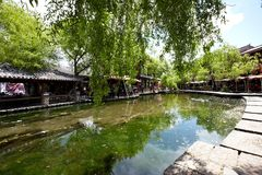 Shuhe ancient town Royalty Free Stock Images