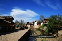 Shuhe ancient town Royalty Free Stock Photos