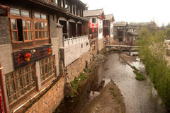 Shuhe ancient town in Lijiang,Yunnan in China. Royalty Free Stock Images