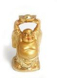 shui för netsuke för hotei för figurine för budaibuddha feng Arkivfoton